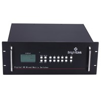 Brightlink 8 x 4 Modular HDMI Matrix-1080P with HDCP-v1.4 (8 sources to 4 display)