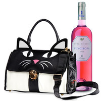 KITTY CAT WINE BOX PURR'SE