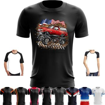 Sport Quick Dry Running Basketball Soccer Training T Shirt Funny Men Women Mud Truck Ford Bronco Women's T-Shirts cool T-Shirt