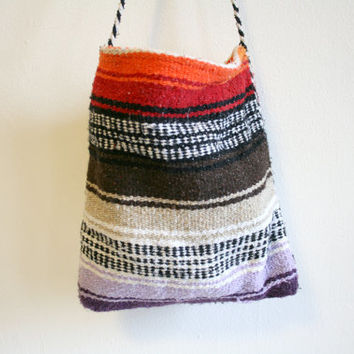 Mexican Blanket Textile Purse