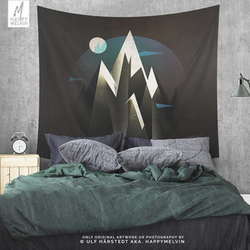 Where I Belong | Wall tapestry | Tapestry  | Mountain Tapestry | Wanderlust | Nature Tapestry | Bohemian | Art |  In 3 Sizes | Gift