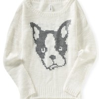 Terrier Intarsia Sweater