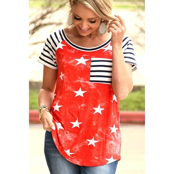 Grand Ole Time Top - Red