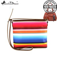 MW310G-8287 Montana West Serape Concealed Carry Messenger Bag