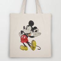 Mickey Mouse Tote Bag by Elyse Notarianni