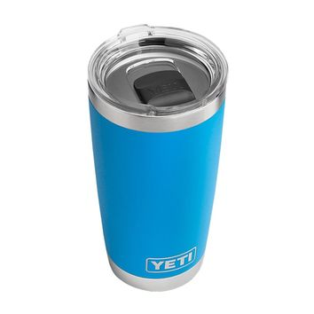 20 oz. DuraCoat Rambler Tumbler in Tahoe Blue with Magslider™ Lid by YETI