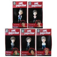 "1D One Direction 3.25"" Figure set of 5 (Niall, Liam, Louis, Zayn, Harry)."