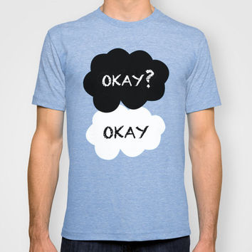 The Fault In Our Stars Graphic T-Shirt: Okay? Okay. MENS + WOMANS