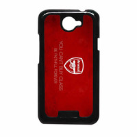 Arsenal FC You Cant Buy Class Be Faithful Forever HTC One X Case