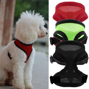Dog Puppy Comfort Harness Sports Hand Strap