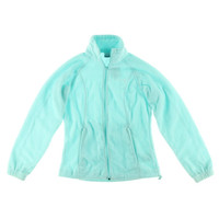 Columbia Sportswear Womens Juniors Long Sleeves Casual Fleece Jacket