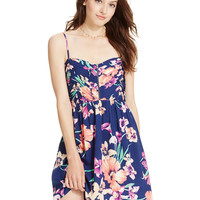 Roxy Juniors' Shore Thing Printed Dress - A Macy's Exclusive