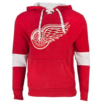 Detroit Red Wings - Logo Kinship Adult Pullover Hoodie