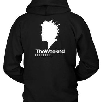 ESBH9S The Weeknd Siluet One Hoodie Two Sided