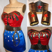Wonder Woman Costume... Awesome Costume for Comic Con or Halloween Party 2013...