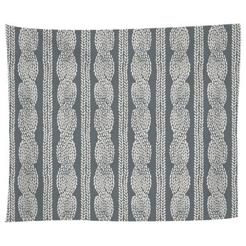 Cable Row Grey Tapestry