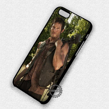 Crossbow Zombies Walking Dead Daryl Dixon Movie - iPhone 7 6S 5 SE 4 Cases & Covers