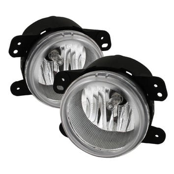 Dodge Magnum 05-08 / Journey 09-10 / Chrysler 300 05-10 ( 5.7L W/ Touring ) / PT Cruiser 06-09 / Jeep Wrangler 07-09 OEM Fog Lights - Clear