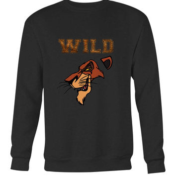 Scar The Wild Lion King Long Sweater