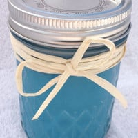 Blueberry Muffin   8oz All Natural Soy Candle by DesertSandCandles