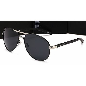 DCCKB62 Gucci Personality Women Casual Sun Shades Eyeglasses Glasses Sunglasses Sliver Frame+Black G