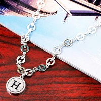 Hermes New fashion More H letter necklace women
