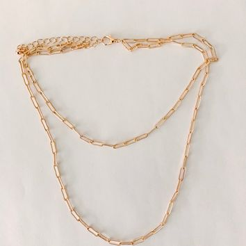 Bliss Double Link Necklace
