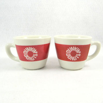 Vintage Dunkin' Donuts Coffee Mugs from Jackson China