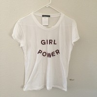 Brandy Melville girl power top