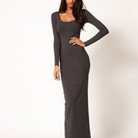 ASOS Maxi Dress with Long Sleeves at asos.com