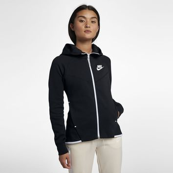 Nike Sportswear Tech Fleece Windrunner Women's Full-Zip Hoodie. Nike.com