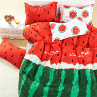 Cotton Watermelon Bedding Set