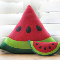 Watermelon Pillow - Decorative Pillow