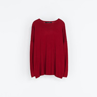 BOAT NECK SWEATER - Sweaters - Knitwear - Woman | ZARA United States