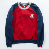 Winter Hoodies New Balance Round-neck Unisex Cotton Sweatshirt [9476782727]