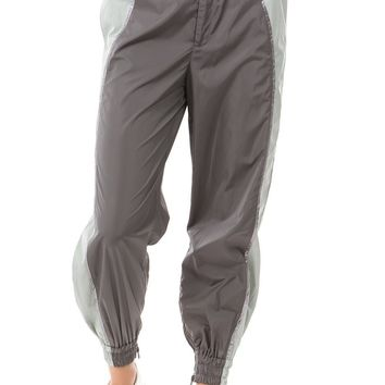 Dad Joke Jogger - Color Block Gunmetal