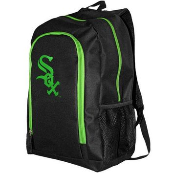 MLB Chicago White Sox Neon Tracker Backpack