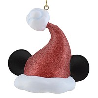 Disney Christmas Ornament Santa Mickey Ear Hat Holiday Light Cover New with Tags