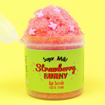 Strawberry Bunny Lip Scrub