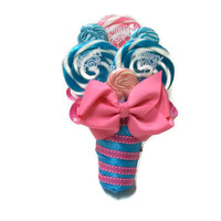 Lollipop Bouquet, Maid of Honor Bouquet, Candy Bouquet, Lollipop Wedding Bouquet, Bridesmaid Bouquet, Pink and Blue, Wedding Bouquet