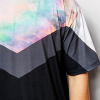 Ichiban T-Shirt With Cloud Panel
