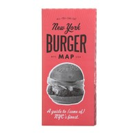 """ALL-YOU-CAN-EAT NYC """"Burger"""" Map"""