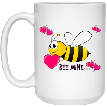 Bee Mine 21504 15 oz. White Mug