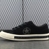 Converse Neighborhood x One Star 74 Fashion Canvas Flats Sneakers Sport Shoes Black