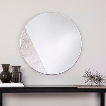 Holly & Martin Towson Contemporary Frameless Mirror - Grey | Overstock.com Shopping - The Best Deals on Mirrors