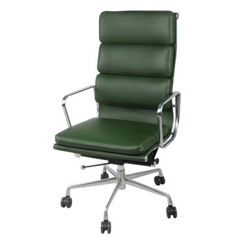 Chandel High Back Office Chair , Vintage Asparagus Green