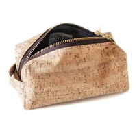 Travel Cork Toiletry Bag