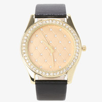Quilted Pave Watch