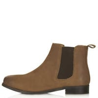 MONTH Leather Chelsea Boots - Tan