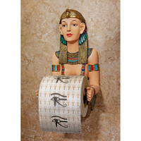 Egyptian Princess Toilet Paper Holder